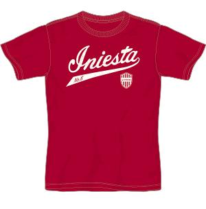 Camiseta casa Vissel Kobe 2018 Talla M Andrés Iniesta Fußball-Trikots von japanischen Vereinen
